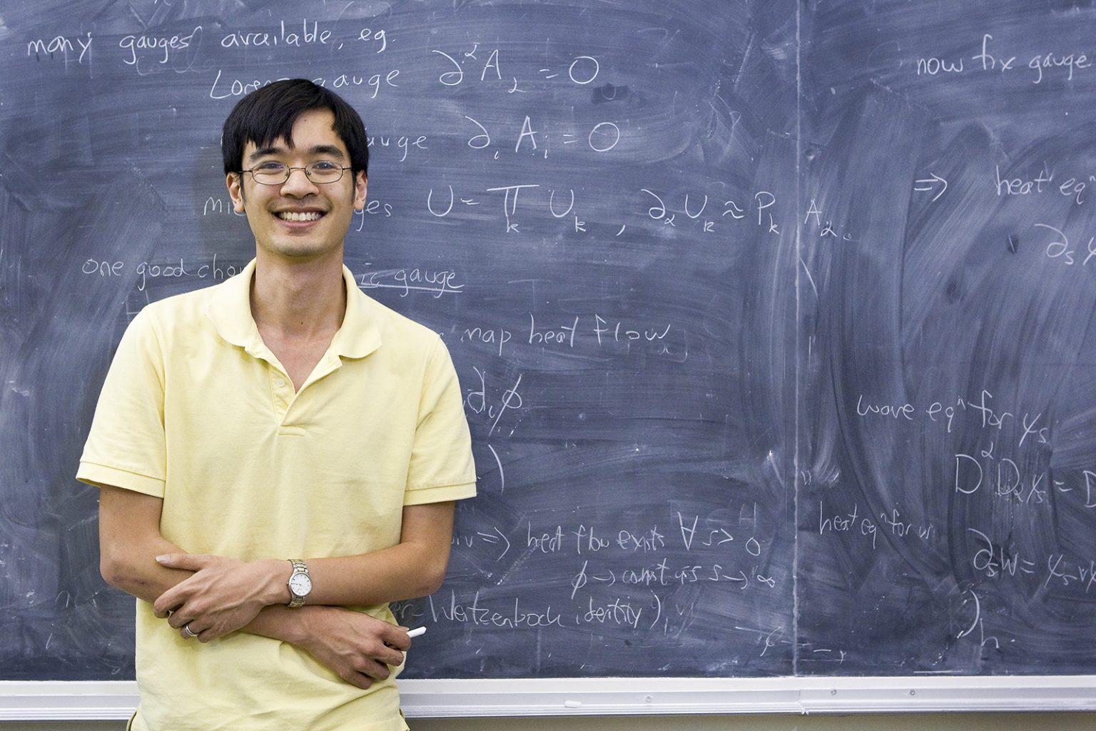 Fields medalist Terence Tao will give a lecture on his ...